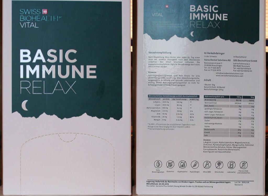 Basic Immune Relax