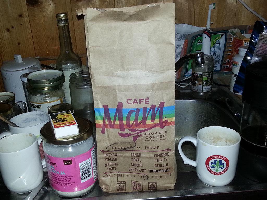 CafeMam therapy roast - økologisk enema kaffe anbefalt av Gerson.