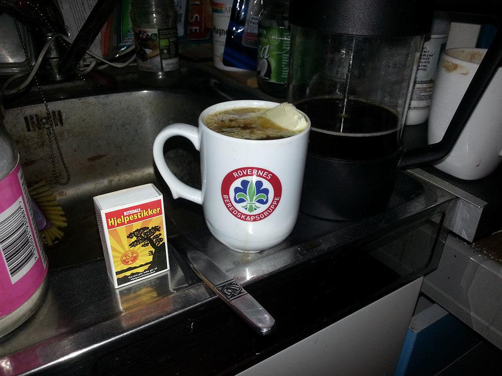 Bulletproof kaffe shot