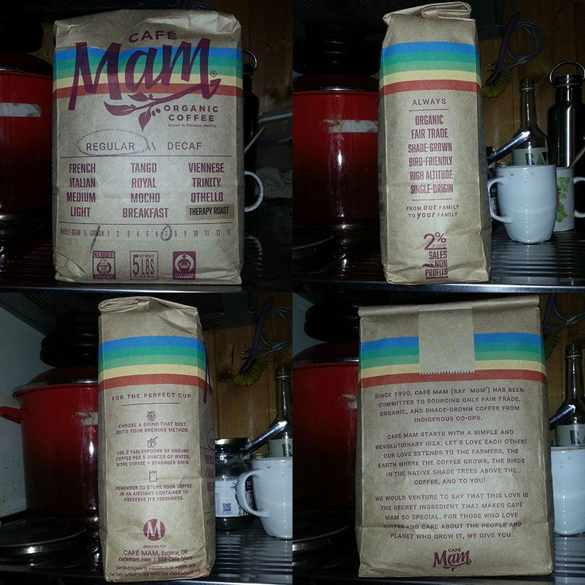 5 pund CafeMam kaffe enema pose.