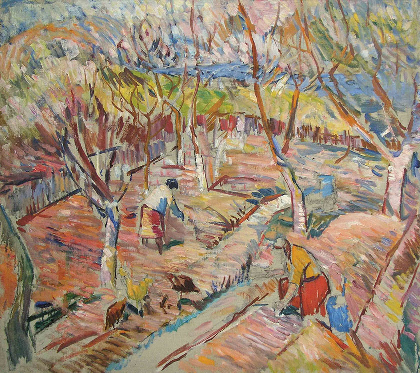 """""""Spring Garden"""", by Tkachenko Andrey Zinovievich, 1981, Ukraine and Russia."""