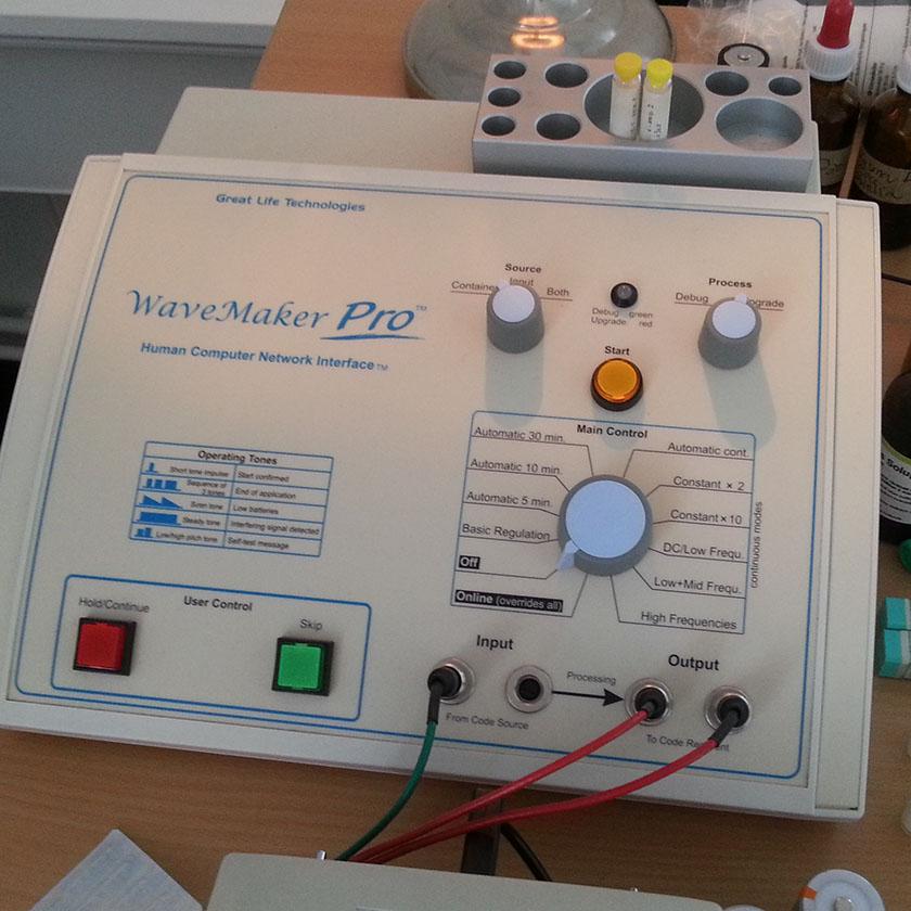 Bioresonans apparat