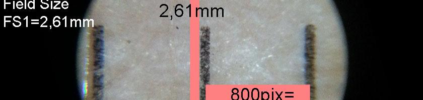 Mikroskop feltdiameter FS