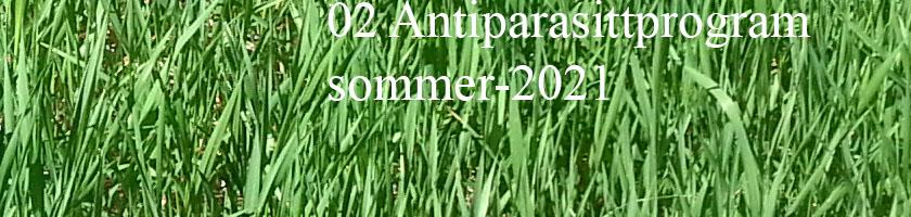Parasitt i avføring 2021-05-28